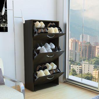 Compra mueble organizador de zapatos online linio m xico for Muebles de melamina para zapatos