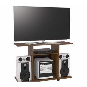 mesa para tv y sonido maderkit pulg xx caramelo