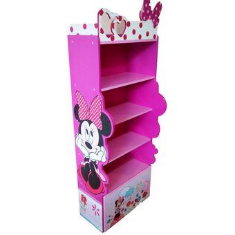 mueble infantil para peluches y juguetes armario estante juguetero ropero biblioteca u magenta y rosa