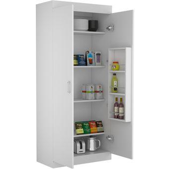 Compra modulo para alacena varese 4 entrepa os blanco for Muebles de cocina moviles