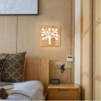 moderna lmpara de pared rboles de madera luz de iluminacin interior led de iluminacin la cafetera