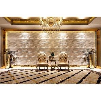 panel decorativo de paredes 3d wall design 80cm x 62cm surge - Panel Decorativo Pared