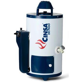 Compra plccn6n boiler calentador gas natural cinsa 6 - Calentador gas ciudad ...