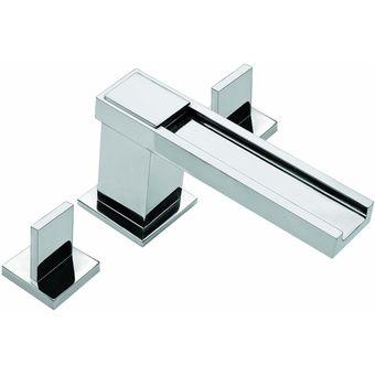 Compra mezcladora para lavabo acueducto con push con for Llaves para lavabo helvex