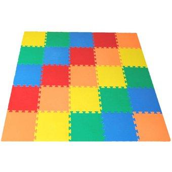 Compra alfombra piso antigolpes ni os bebes 25 piezas de goma eva online linio per - Alfombra de goma para piso ...