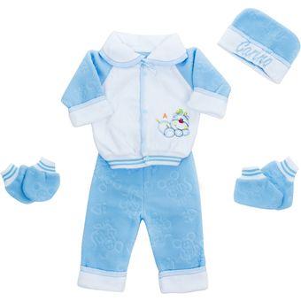 pijama piezas para bebe troquelada glo