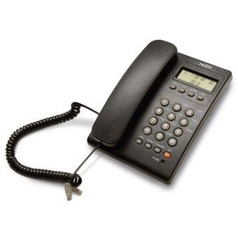 Compra tel fono al mbrico misik mt883 para casa con identificador de llamadas negro online - Telefono de oficina de ryanair ...