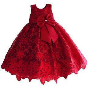 Vestidos para bebes rojos