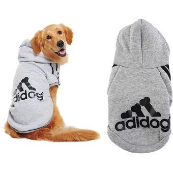 ER Adi Suéter Del Perro Mascota-Gris.
