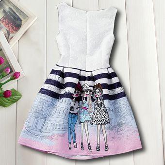 chicas vestirse verano marca nios vestidos princesa disfraz moda impresin adolescente ropa nios vestir nias