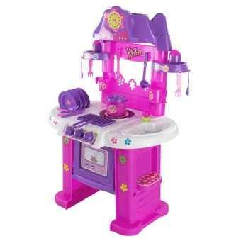 agotado cocina infantil grande completa de juguete para nias estufa