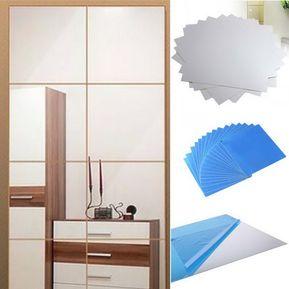 set de espejo de pared decoracin cas
