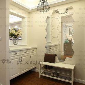 pcs d espejo extrable etiqueta de la pared del vinilo de la decoracin de la decoracin
