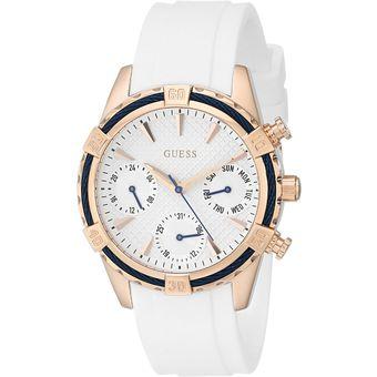 reloj mujer guess blanco 818c9b71df74