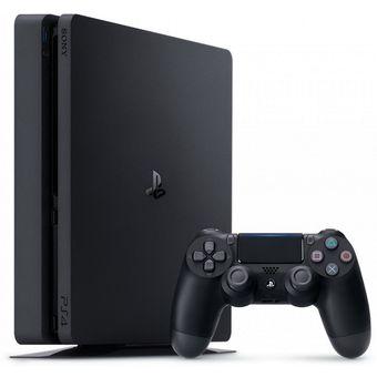 Consola de Videojuegos Sony PLAYSTATION 4 SLIM 500 Gb 8 Nucleos Blu-ray-Negro