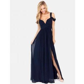 Vestido de noche tipo griego