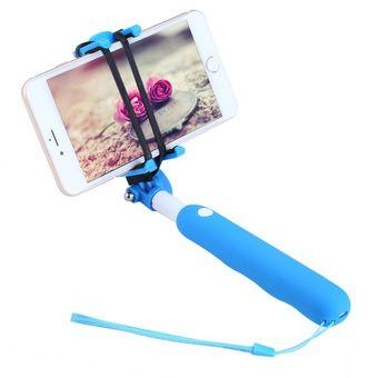compra noosy br09 selfie palillo extendable bluetooth 3 0 wireless selfie stick monopod azul. Black Bedroom Furniture Sets. Home Design Ideas