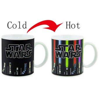 Resistencia Al Calor Fría Caliente Star Wars Color-Cambiando Café Leche Taza Taza Drinkware