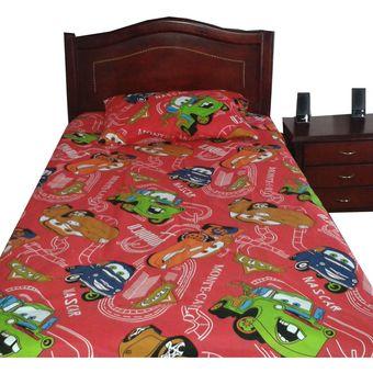 agotado juego de sabanas infantiles cama sencillo diseo de cars color rojo