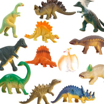 juguete surtido de decoracin diseo dinosaurios set piezas