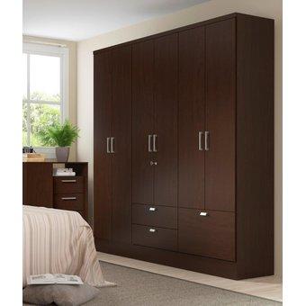 Compra ropero closet bertolini 598 6 puertas 3 cajones for California closets mexico