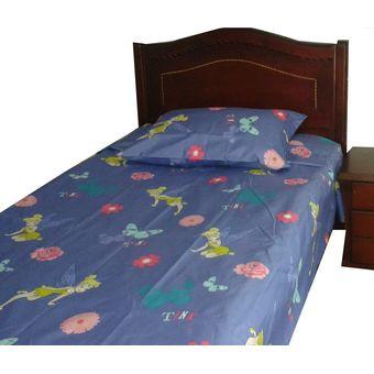 juego de sabanas infantiles cama sencillo diseo de tinker bell color morado
