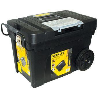 Compra caja para herramientas con ruedas 033026r stanley - Caja herramientas con ruedas ...