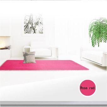 Compra ew sal n rosa de lana alfombra de la habitaci n - Alfombras de lana para salon ...