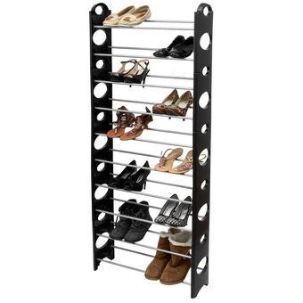 Compra zapatera rack organizador zapatos 10 niveles 1270 for Zapateras para ninas