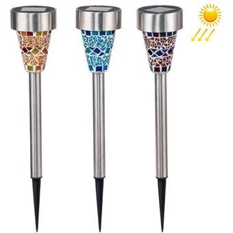 Compra a110 3 pcs led lamparas solares jardin paisaje - Lamparas exterior solares ...