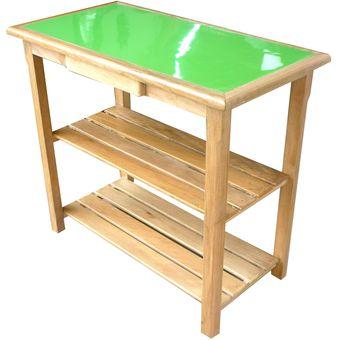amoblados fysa mesa chica para cocina madera