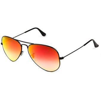 gafas ray ban aviator naranjas