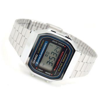31aab44110b2 reloj casio plata