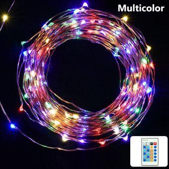 series luces led metros control remoto leds
