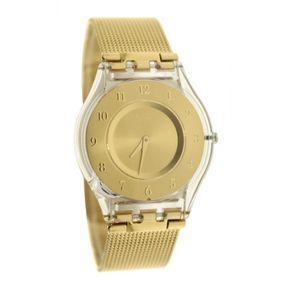 reloj swatch sfkm dorado mujer