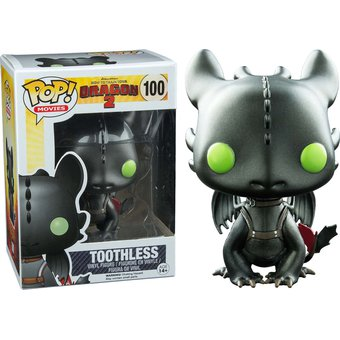 Compra Funko Pop Toothless Metallic Chimuelo Metalico Como
