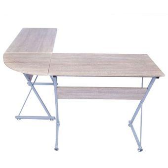 Compra escritorio para oficina de melamina 909m roble for Compra de muebles para oficina