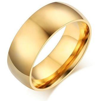 anillo acero inoxidable boda estilo senc
