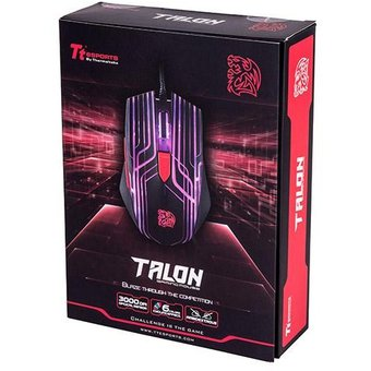 Mouse Gamer Thermaltake Tt Talon Black