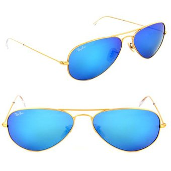 lentes ray ban aviator azul