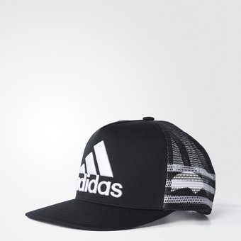 gorra adidas negra y blanca