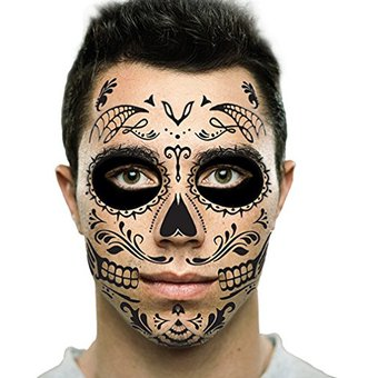 Day Of The Dead Face Paint Forehead