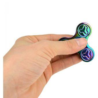 fidget spinner arcoiris trispinner hand spinners juguete de escritorio de escritorio de escritorio para
