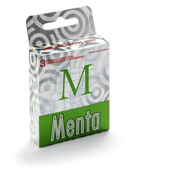 M Display New Menta 10 Unidades X 3 Preservativos