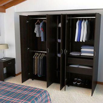 Compra closet montevideo ci rta design sa clw 2058 wengue for Closet modernos para hombres