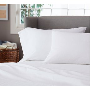 juego de sbanas blancas cama extradoble