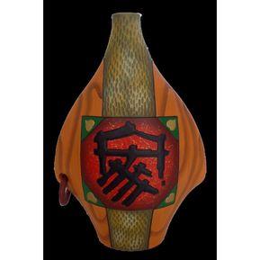 jarron decorativo en ceramica oriental s