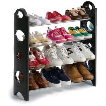 Compra rack zapatera organizador para 12 pares 4 niveles for Zapateras para ninas