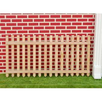 magideal madera piquete jardn valla de jardn de casa de muecas en miniatura de color 1 - Valla De Jardin