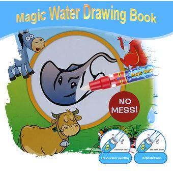 Compra Agua Mgica No Txica Libro De Dibujo Para Colorear Libro